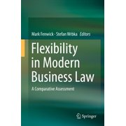 Flexibility in Modern Business Law - eBook