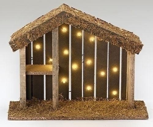 "Roman Fontanini 5"" LED Lighted Religious Christmas Nativi..."