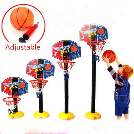 Type Mobile - 7 Types Height Adjustable/Hanging Mobile Portable Shooting Frame Basketball System Game Set for Children Kids Teens