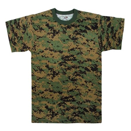 Boys Woodland Digital Camouflage T-Shirt Infant Woodland Camouflage T-shirt