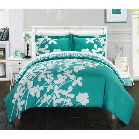 Casa Blanca 3 Piece Bedding Duvet Cover Set Walmart Com