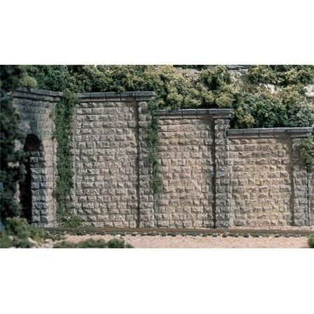 Woodland Scenics WS 1259 Ho Retaining Wall-Cut Stone - 3