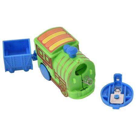 Costway 77PCS B/O Kids Child Plastic Brick Toys Electronic Building Blocks Railway Train - image 2 de 9