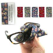6 Microfiber Cleaning Cloths Glasses Sunglass Optical Lens Fashion Cloth Screen