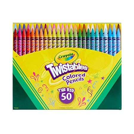 Crayola Twistables Colored Pencils -  50 - Crayola Twistable Colored Pencils