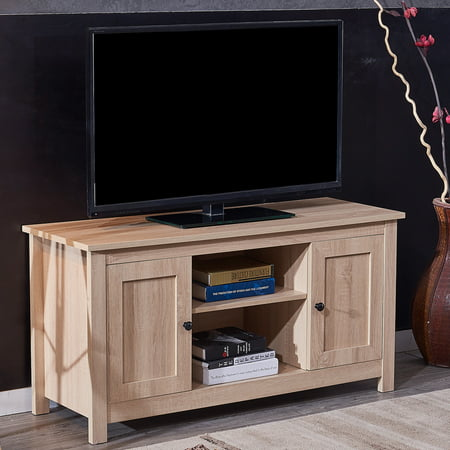 Harper&Bright Designs Wood TV Stand Cabinet Entertainment Media Console Center,Multiple Colors