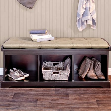 Cool Charlton Home Between Wood Storage Entryway Bench Short Links Chair Design For Home Short Linksinfo