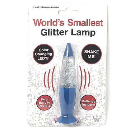 World's Smallest GLITTER LAMP ()