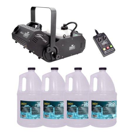 Chauvet DJ Hurricane 1800 H1800 Flex Fog/Smoke Machine W/4 FJU Gallons Fog
