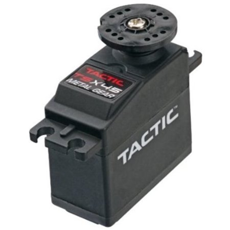 Tactic TSX45 High Torque MG 2BB Standard Servo Multi-Colored