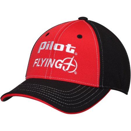 Michael Annett Pilot/Flying J JR Motorsports Team Adjustable Hat - Red - OSFA