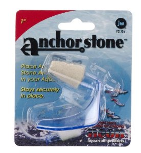 JW Pet Company 1-Inch Anchorstone Sand Airstone Aquarium Accessory Multi-Colored