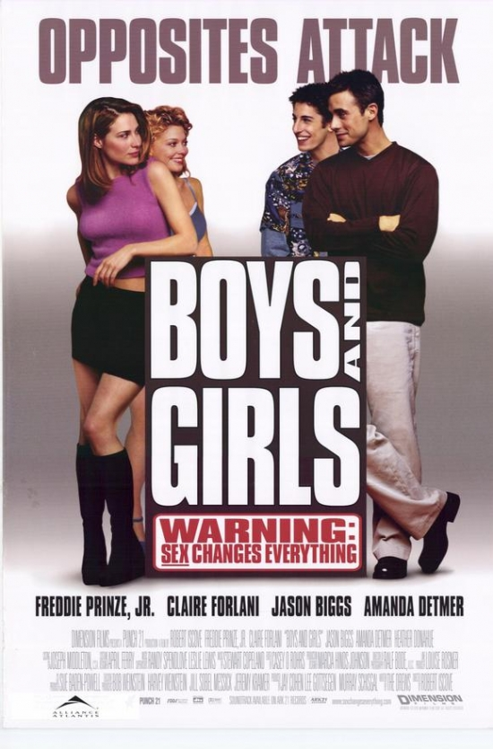 Boys and Girls Movie Poster Print (27 x 40) by Pop Culture Graphics