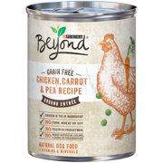 Purina Beyond Grain Free Chicken, Carrot & Pea Recipe Ground Entrée Dog Food 13 oz. Can