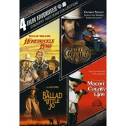 4 Film Favorites: Country Westerns Pure Country   Honeysuckle Rose   The Ballad Of Little Jo   Macon County Line... by WARNER HOME ENTERTAINMENT