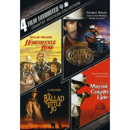 4 Film Favorites: Country Westerns - Pure Country / Honeysuckle Rose / The Ballad Of Little Jo / Macon County Line (Widescreen)