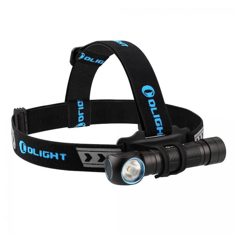 Olight H2R Nova 2300 Lumen 1 x 18650 CREE XHP50 CW (Cool White) LED Headlamp - OLI-H2R