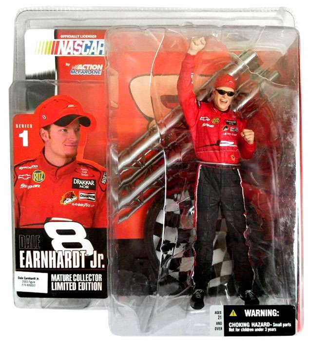 McFarlane NASCAR Series 1 Dale Earnhardt Jr. Action Figure