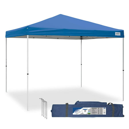 Caravan Canopy V Series 2 Pro 10' x 10' Entry Level Straight Leg Canopy, Blue