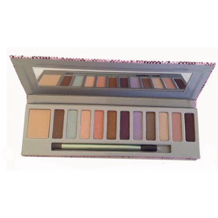 Mally Beauty Shadow Palette 1 Base & 11 Eye Shadow Shades (Loving (First Base Soothing Eye Shadow Base)