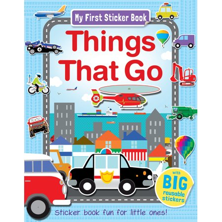 My First Sticker Book Things That Go : Sticker book fun for little ones! - Fun Things To Do On Halloween