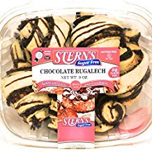 Stern's Bakery 0g Trans Fat Sugar Free Chocolate Rugelach 9 oz.