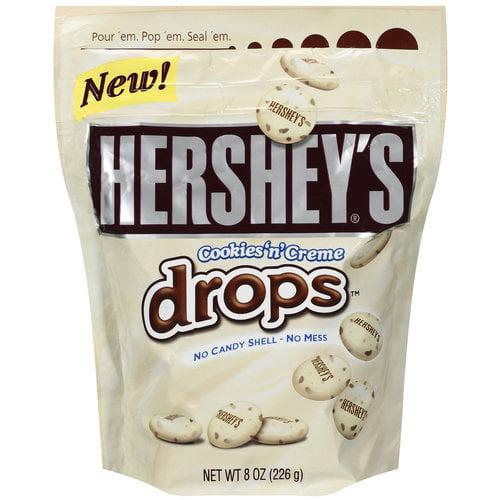 Hershey's Cookies N Creme Drops, 8 oz