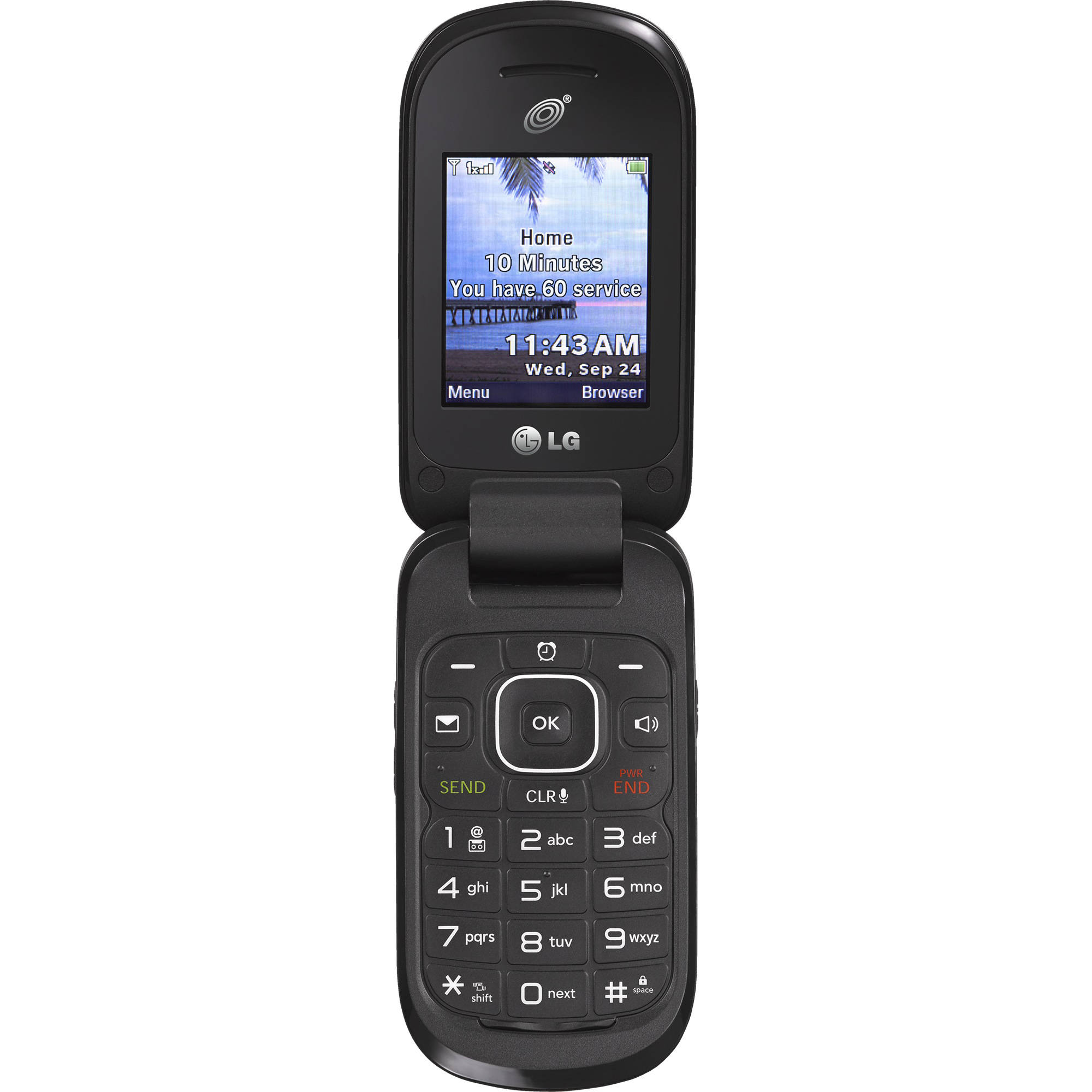 totalwireless lg 238c 3g prepaid phone   walmart