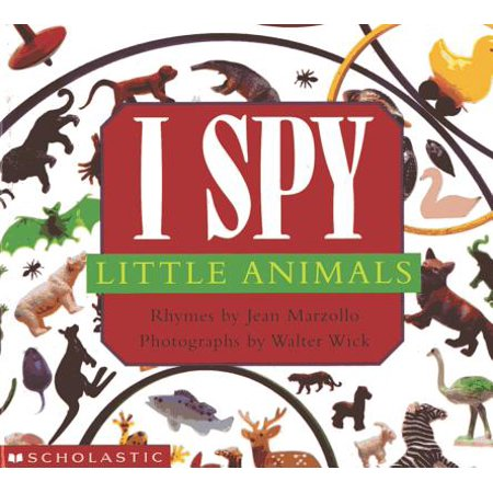I Spy Little Animals (Board - Halloween I Spy Printables