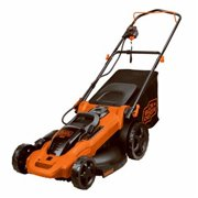 Black & Decker 233050 12A 17 in. Corded Lawn Mower with 6 Setting Height Adjustment