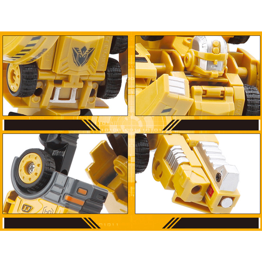 Transformation Car Robot Model Alloy Construction Vehicles Manual Operated Style:Transport Cart - image 1 of 6