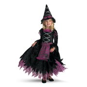 Girl's Fairy Tale Witch Deluxe Halloween Costume