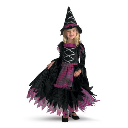 Girl's Fairy Tale Witch Deluxe Toddler Halloween Costume