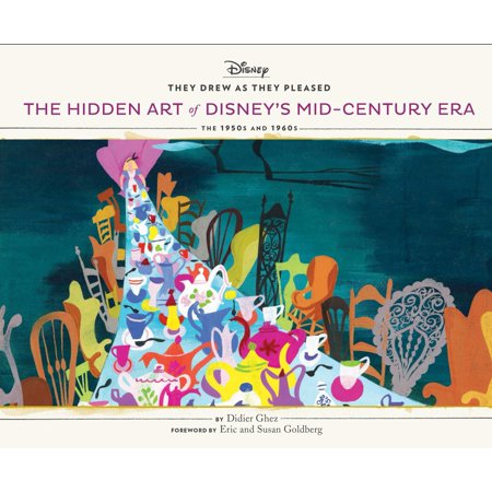 - They Drew As They Pleased Vol 4 : The Hidden Art of Disney's Mid-Century Era: The 1950s and 1960s