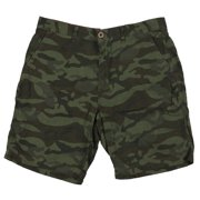 Weatherproof Vintage Men's Camo Printed Shorts sz 32 Camo Green