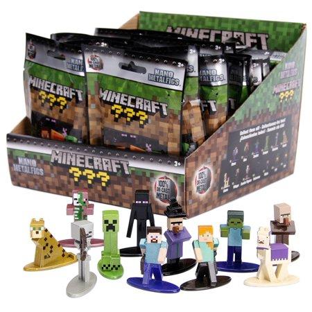 Minecraft M-Figs Series 1 Mystery Pack [1 Figure] (Halloween Minecraft Pack)