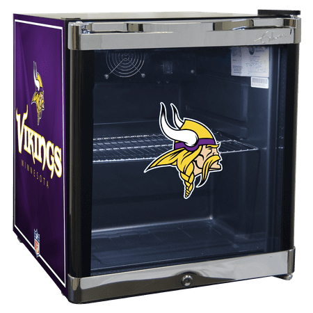 NFL Refrigerated Beverage Center 1.8 cu ft -Minnesota Vikings by