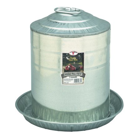 Miller Manufacturing 5 gal Double Wall Fount