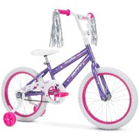 Huffy 18-Inch Sea Star Girls Bike , Purple Metallic Gloss