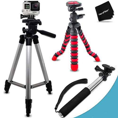 Xtech® Tripod Kit for GoPro HERO4 Hero 4, GoPro Hero3+, G...