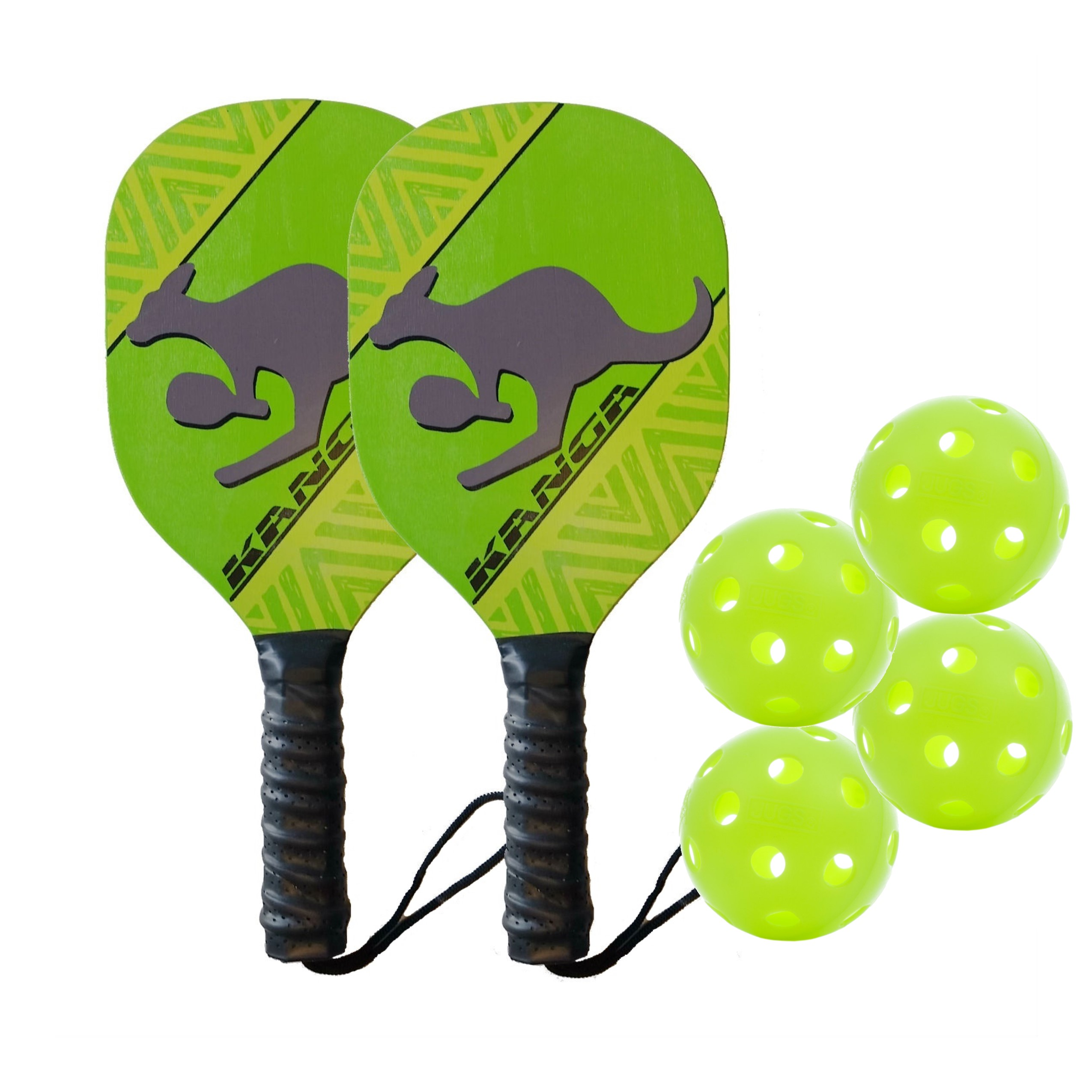 Kanga Wood Pickleball Paddle Bundle