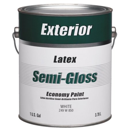 Economy Latex Semi-Gloss Exterior House Paint