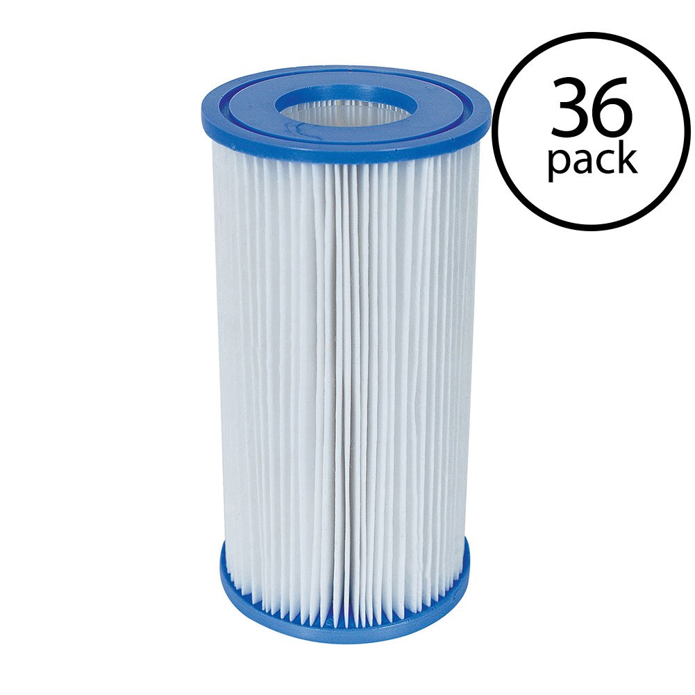 Coleman Type III A/C Swimming Pool Filter Pump Replacement Cartridge (36 Pack)
