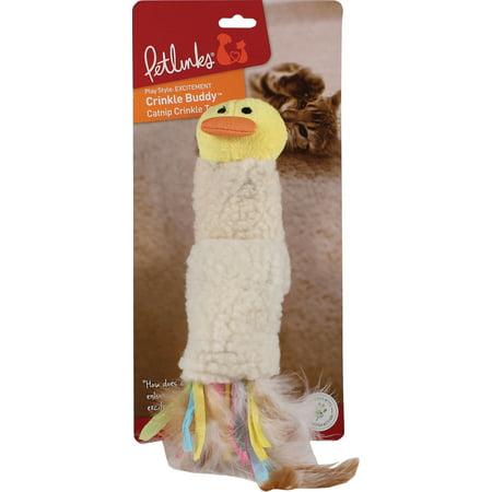 Crinkle Cap - Petlinks® Crinkle Buddy™ Catnip Crinkle Kicker™ Cat Toy