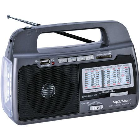 Supersonic SC-1082 9-Band AM/FM/SW1–7 Portable