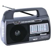 Supersonic SC-1082 9-Band AM/FM/SW17 Portable Radio