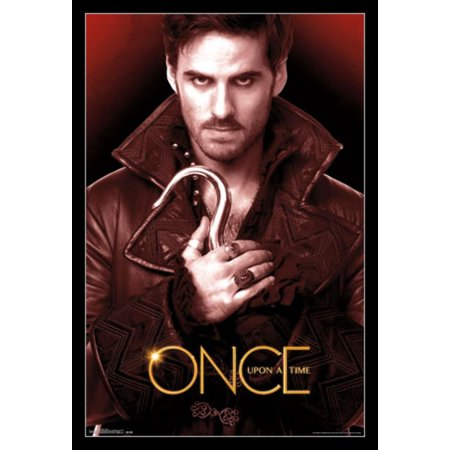 Once Upon A Time - Hook Poster Print (The Best Posters Of All Time)