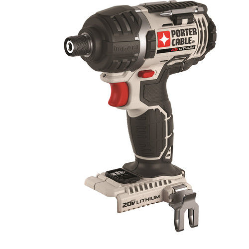 PORTER CABLE 20-Volt Max Lithium-Ion Cordless Impact Driver (Bare Tool/Battery Sold Seperately), PCC640B