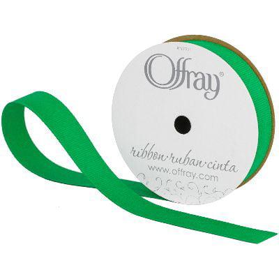 5//8-Inch x 18-Feet 5//8 Inch Baby Maize Grosgrain Craft Ribbon Offray