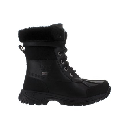 Big Kids Ugg Butte Black Boot 5209K-BLK (Big Kid Uggs On Sale)